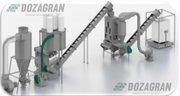 Линии производства топливных гранул (пеллет) из отходов древесных и сх